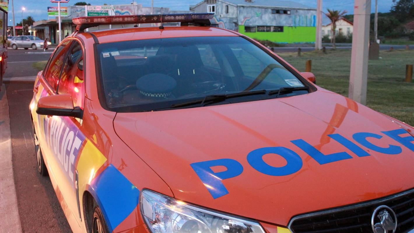 Single vehicle crash at Oropi in the Western Bay of Plenty
