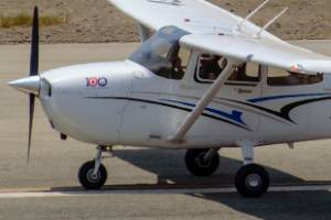 The plane involved was similar to this Cessna 172S (file photo).