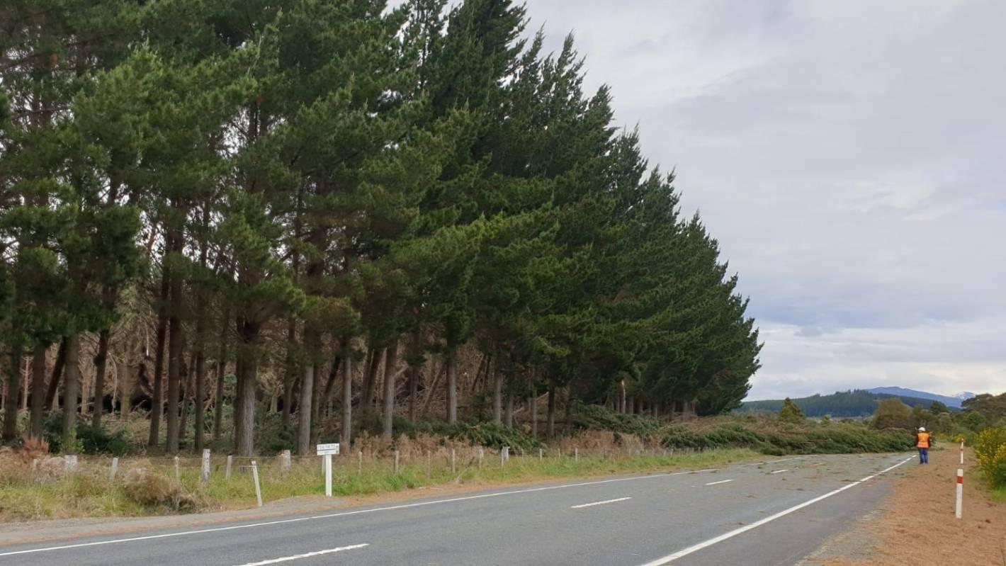 State Highway 1 closed between Taupō and Tūrangi
