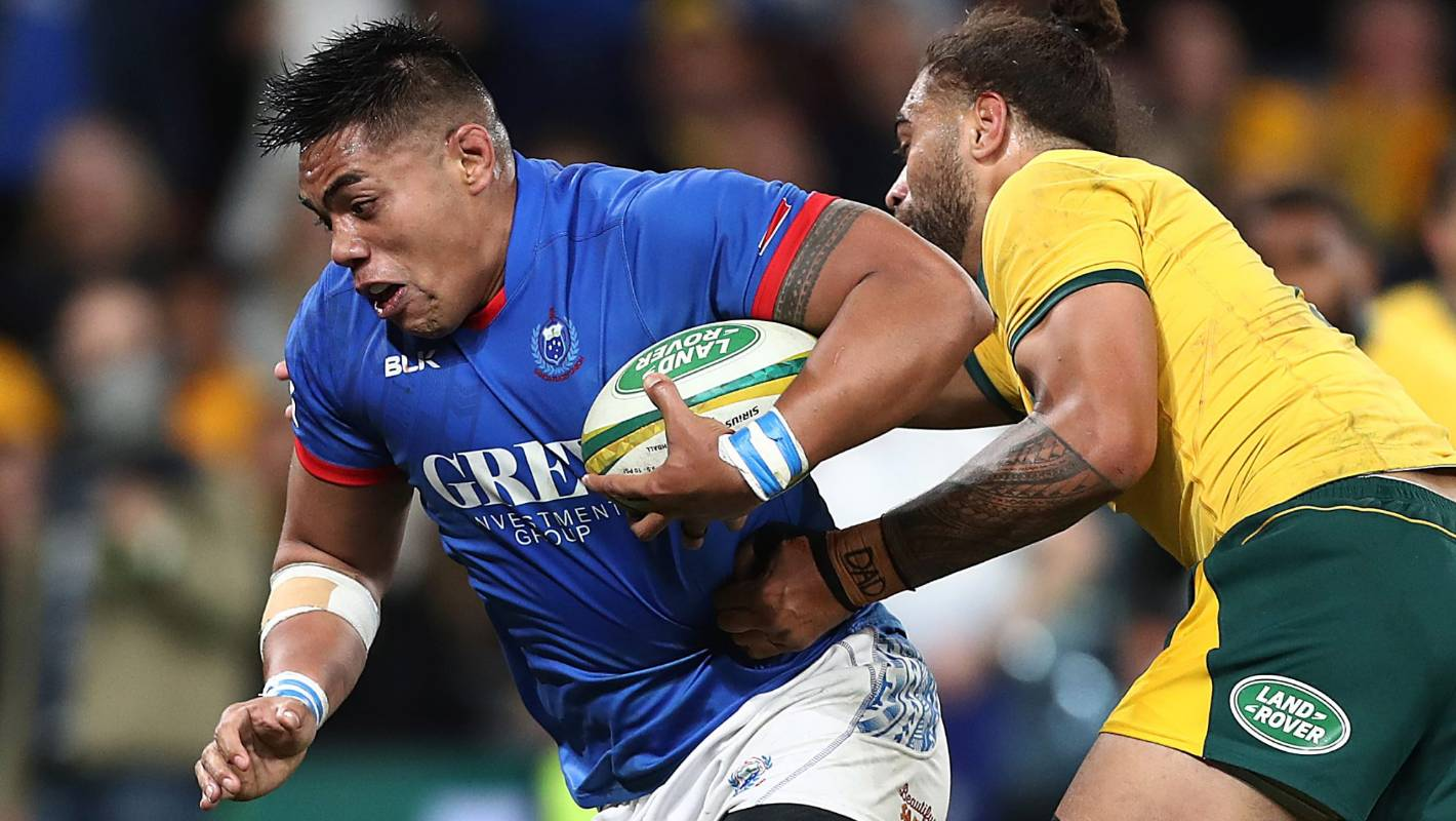 Crusaders prop Michael Alaalatoa makes Rugby World Cup 'Farewell XV'