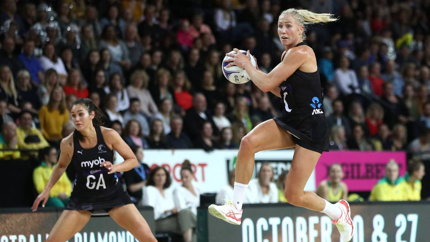 Australian Diamonds hit back against Silver Ferns to level the Constellation Cup