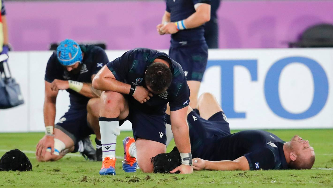 Rugby World Cup 2019: Scottish Rugby questions misconduct charge