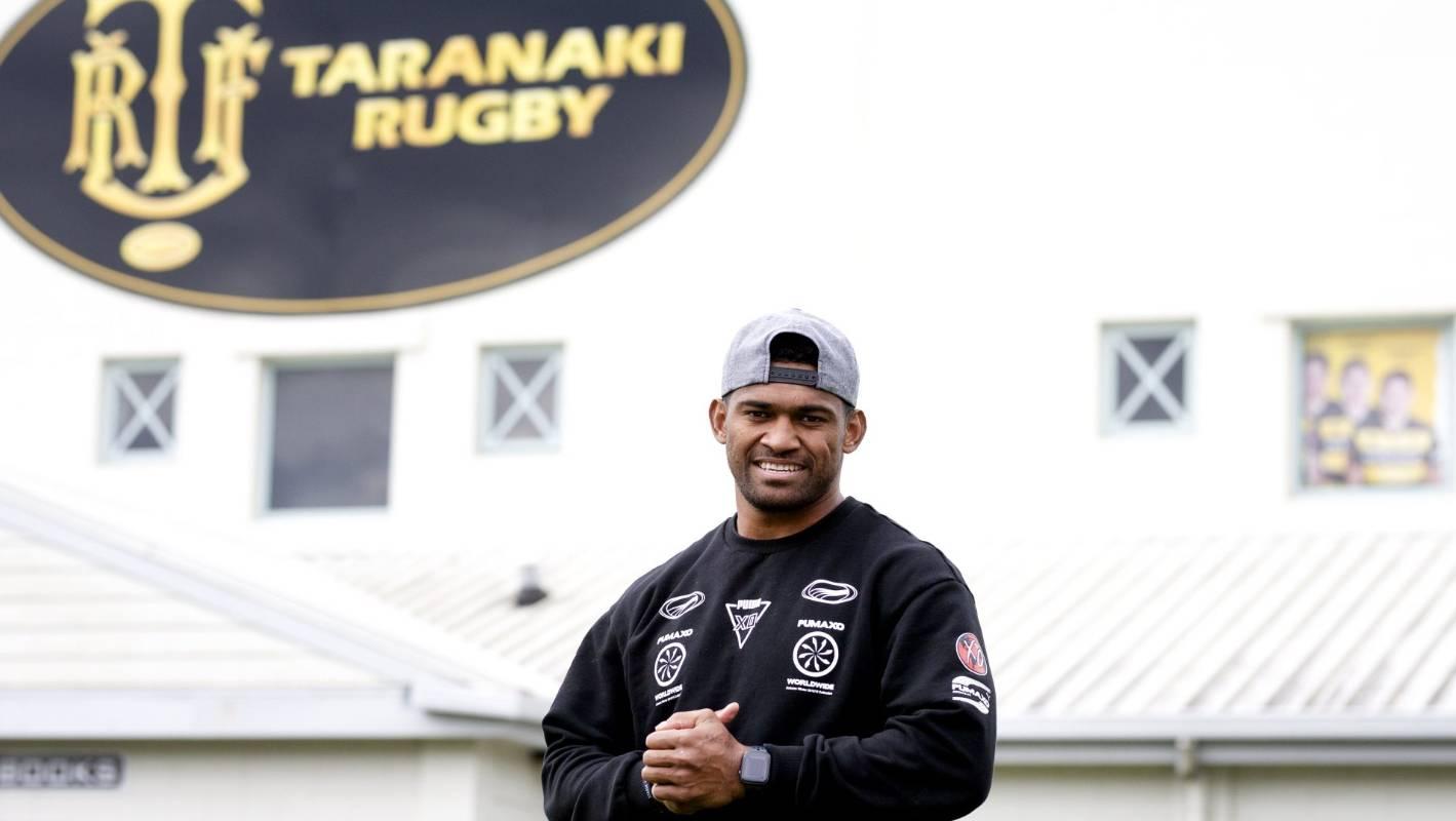 Flying Fijian Waisake Naholo leaves Taranaki with lifetime memories