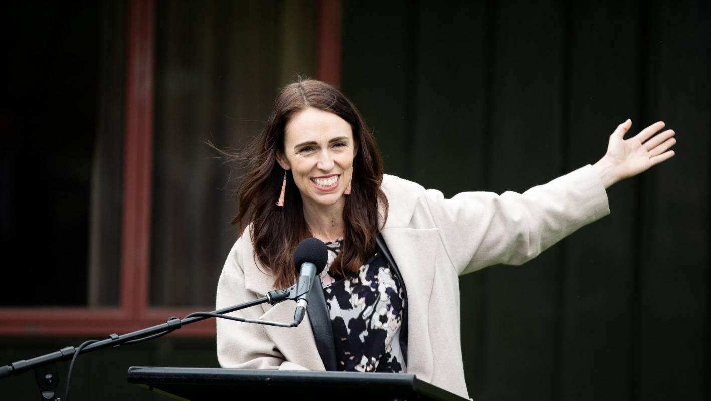 Prime Minister Jacinda Ardern gives support to Waikato University's The Pā project
