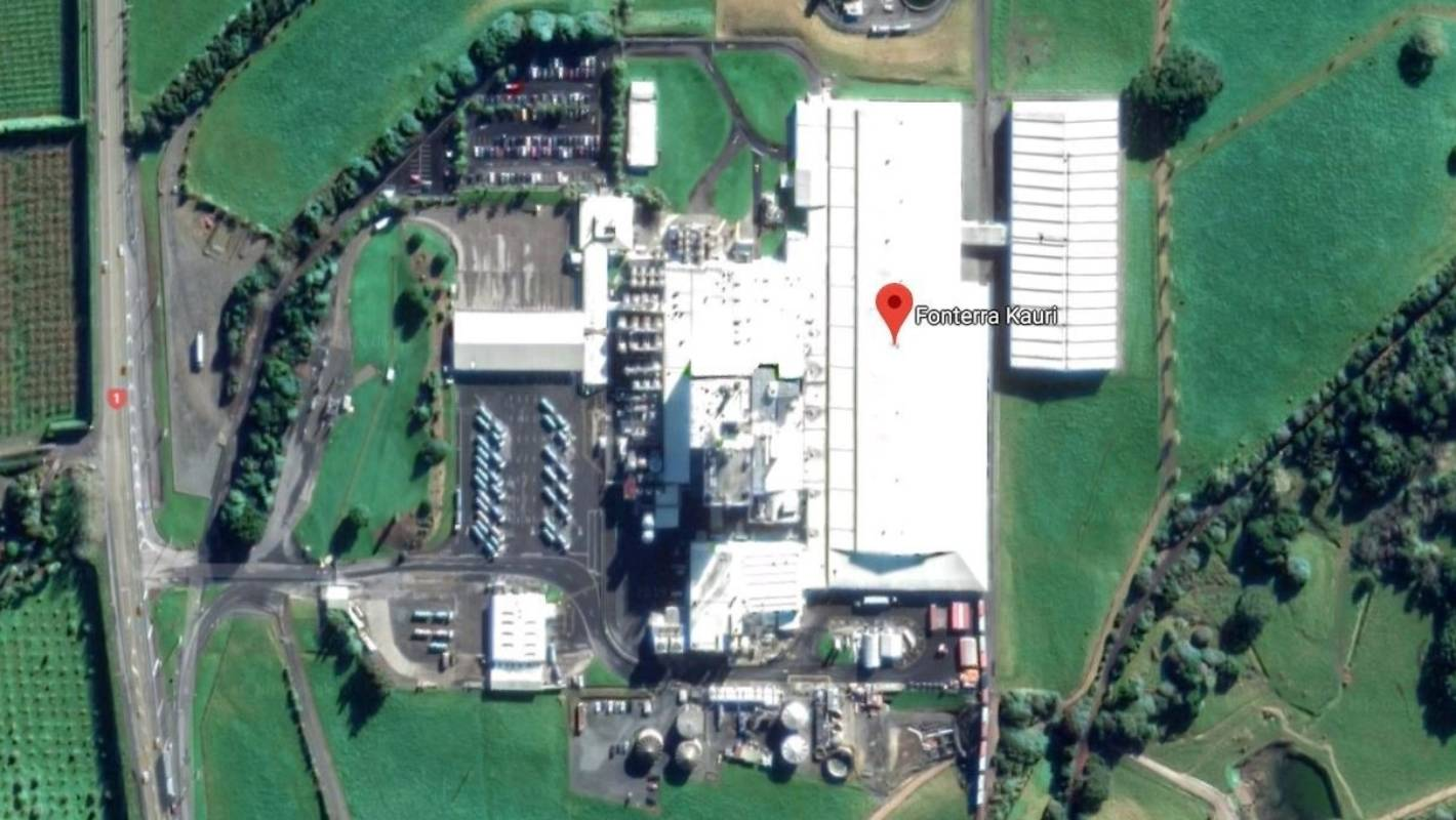 One taken to hospital following fire at Fonterra factory in Northland