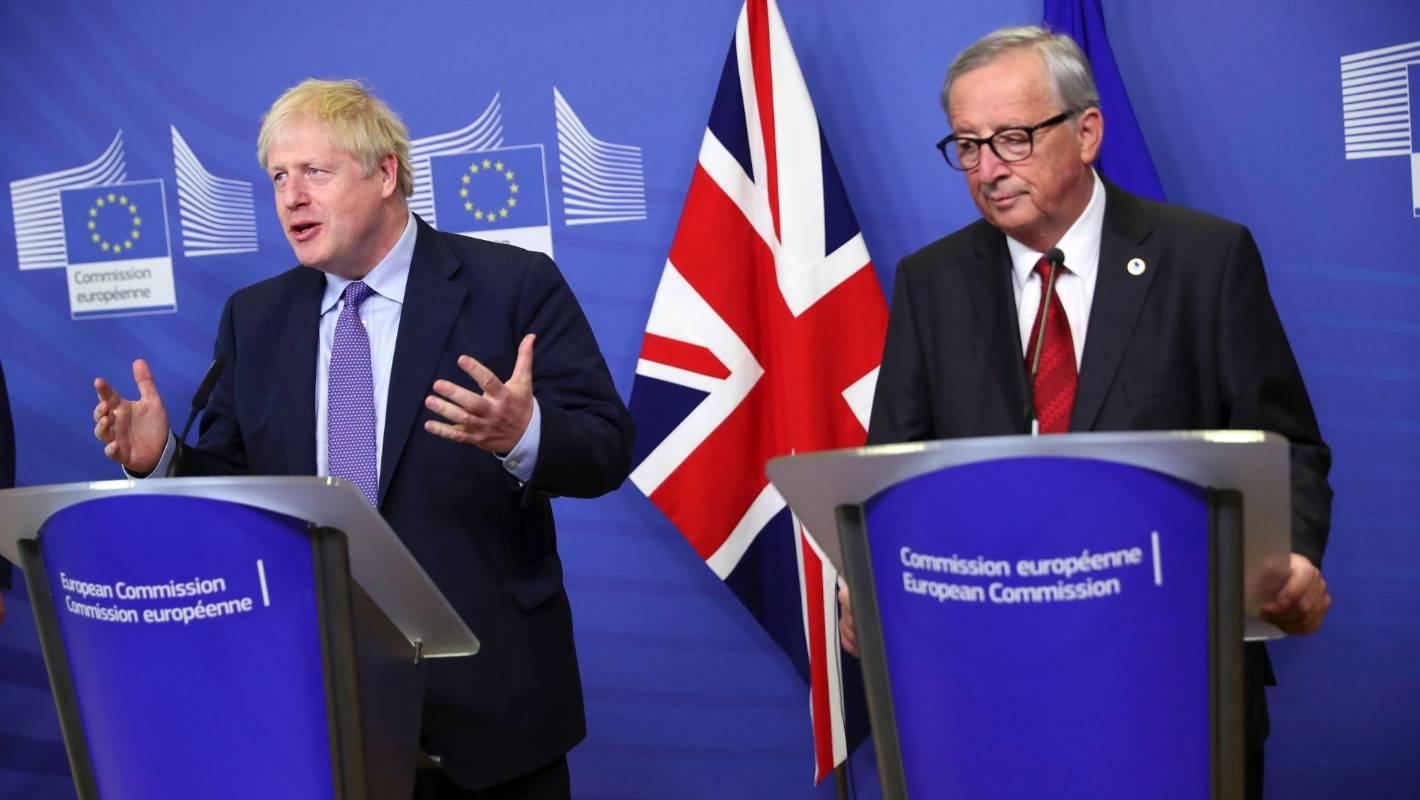 Brexit breakthrough: EU, UK reach outline new divorce deal
