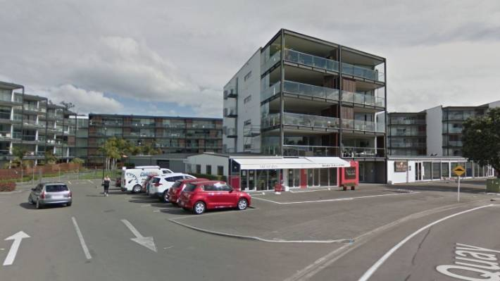 West Quay apartments, Napier, were built in 2006 and 2007 and have been the subject of an ongoing legal dispute between a Body Corporate and Napier City Council since 2012..