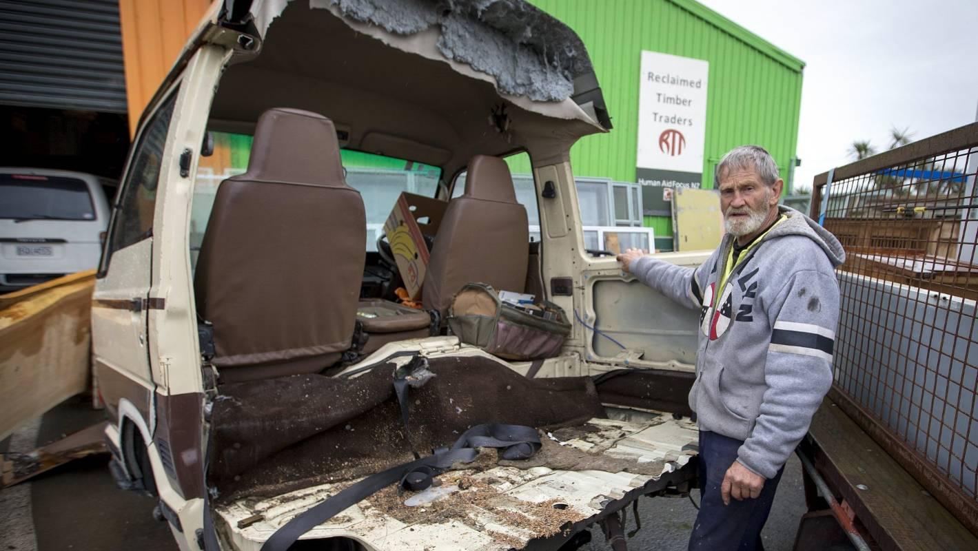 Stolen Palmerston North charity van cut to pieces