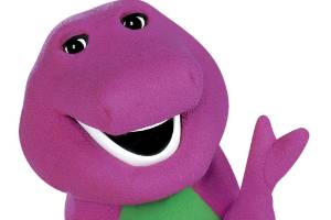 Barney the purple dinosaur is back.