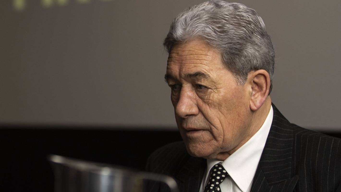 Winston Peters' message for MediaWorks: 'Good riddance'