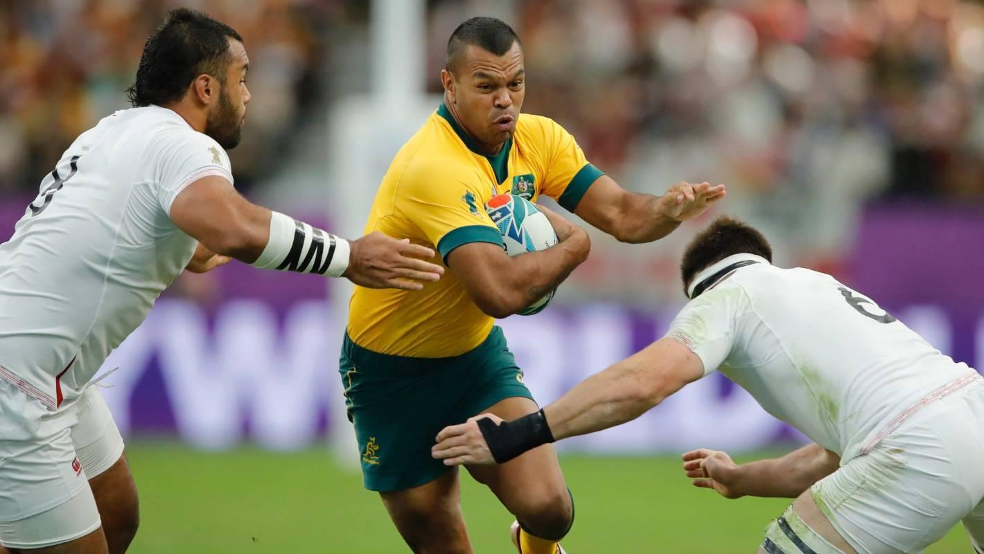 England v Australia: 'New record' Spark Sport stream falters in RWC quarterfinal