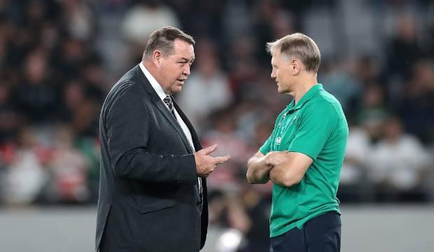 All Blacks v Ireland: Steve Hansen lauds forwards, defence and silence of the fans