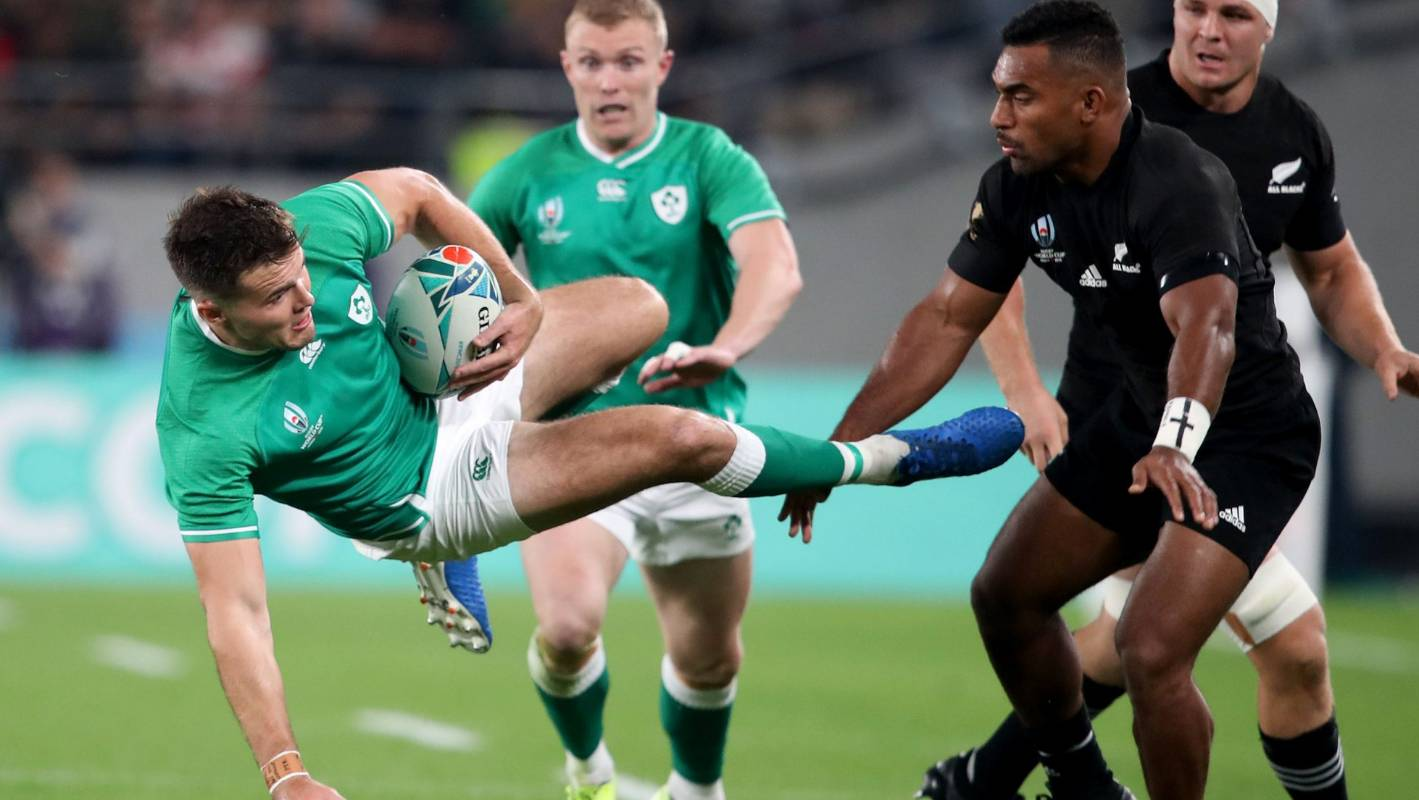 All Blacks v Ireland: Defensive masterclass sets up Rugby World Cup quarterfinal cakewalk