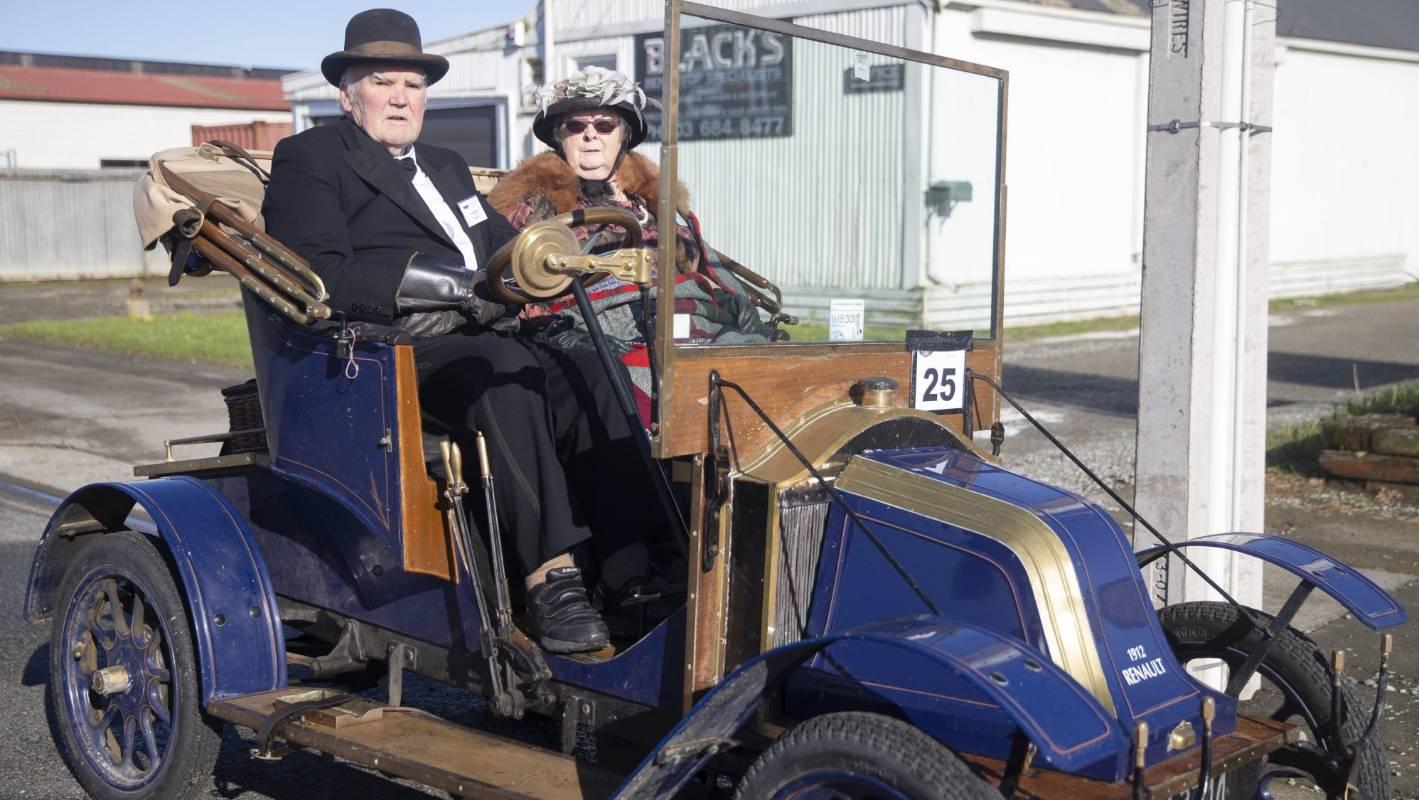 South Canterbury vintage car rally hailed a success