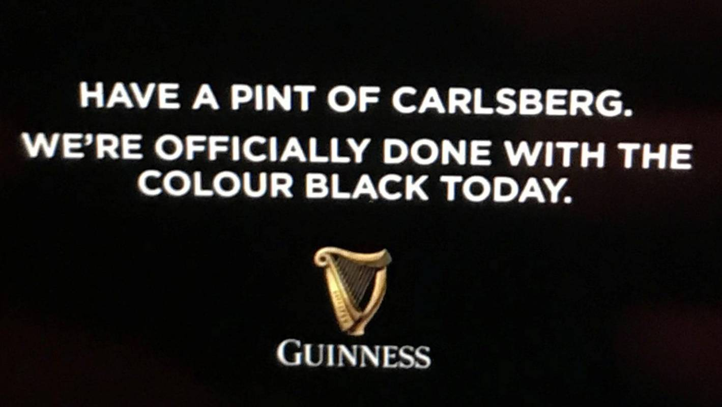 Rugby World Cup: Ireland sent packing but Guinness score with marketing gimmick