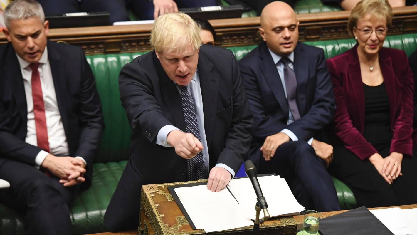 British PM Boris Johnson grudgingly asks for Brexit delay