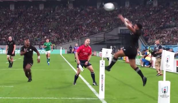 All Blacks v Ireland: Richie Mo'unga's match-turning moment of magic