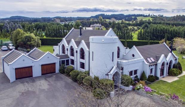'Medieval castle' house for sale has Norman and Gothic overtones