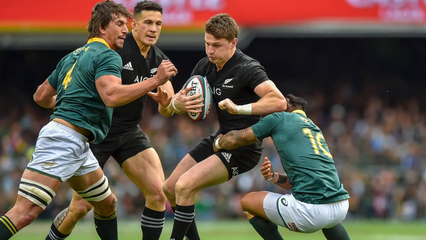 South Africa is changing on several fronts, and they're fearful of the All Blacks