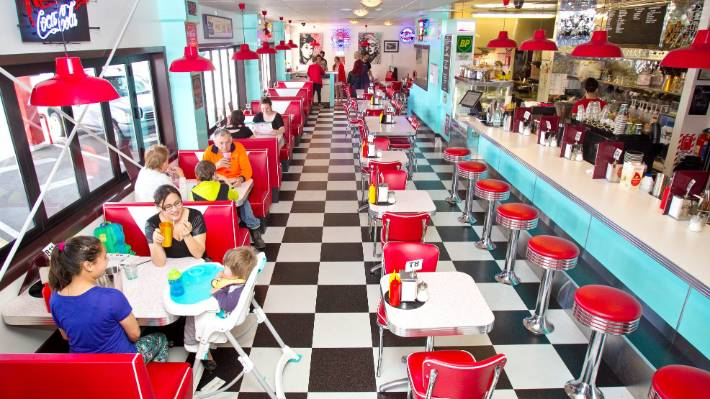 Deluxe Diner was named people's choice.