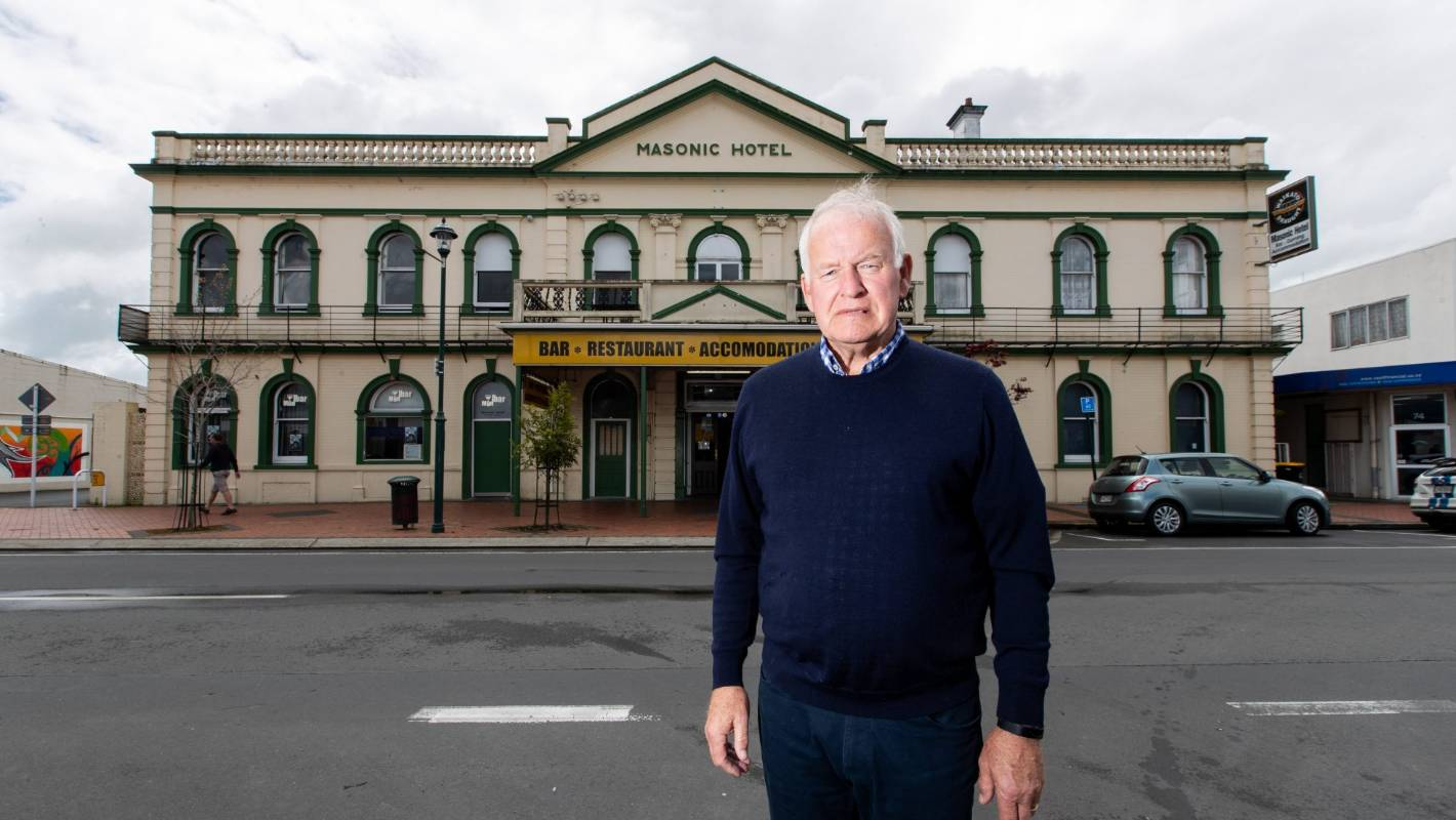 Government commits $300,000 to reinforce Cambridge Masonic Hotel
