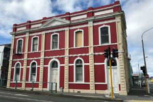 This Crawford St property, the former A.H. Reed building, has been the subject of a court case in the High Court at Dunedin.
