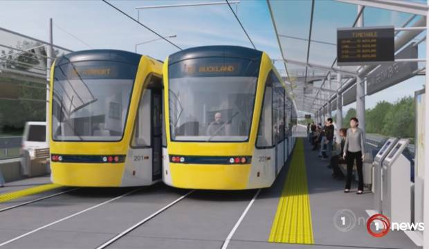 Auckland Light Rail: Goff says it's the Government's call
