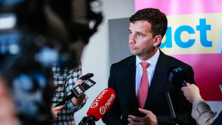 ACT leader David Seymour has been pushing the bill for four years.