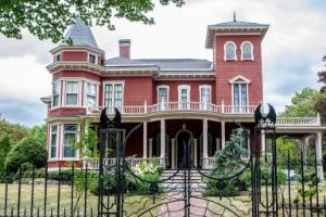 Stephen King's house in Bangor Maine is a Victorian manor that is set to be turned into a museum and writers' retreat.