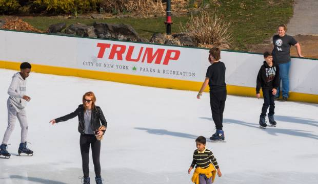 US President Donald Trump's company scrubs his name from New York ice rinks