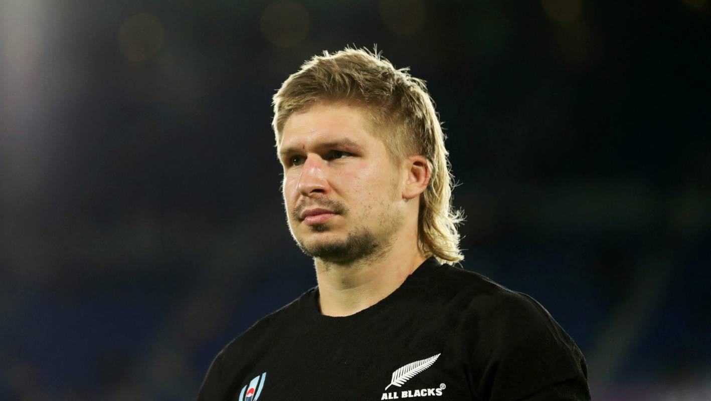 All Black Jack Goodhue S Mullet The Real Mvp Of The Rugby World Cup Stuff Co Nz