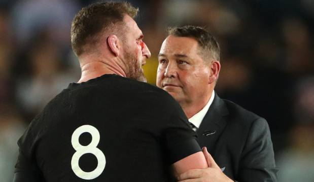 All Blacks v England: Stephen Jones salutes departing giants Steve Hansen and Kieran Read