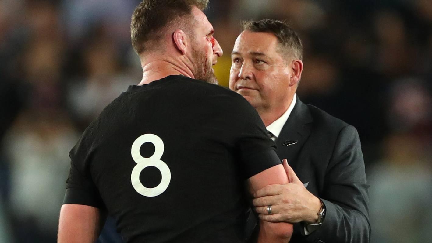 Departing coach Steve Hansen and captain Kieran Read go down as All Blacks greats