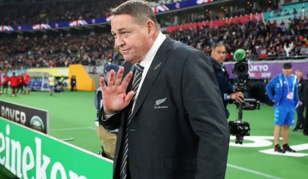 All Blacks v Wales: Steve Hansen signs off - 'I am quite a shy person'