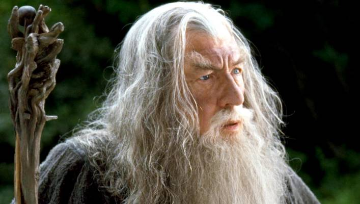 Sir Ian McKellen, seen here as Gandalf in the Lord of The Rings, described Arcadia as his 'favourite place on Earth'.