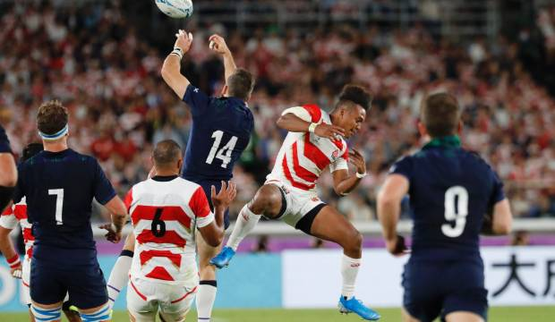 Scotland 'regret' misconduct before Ruby Wold Cup match vs Japan