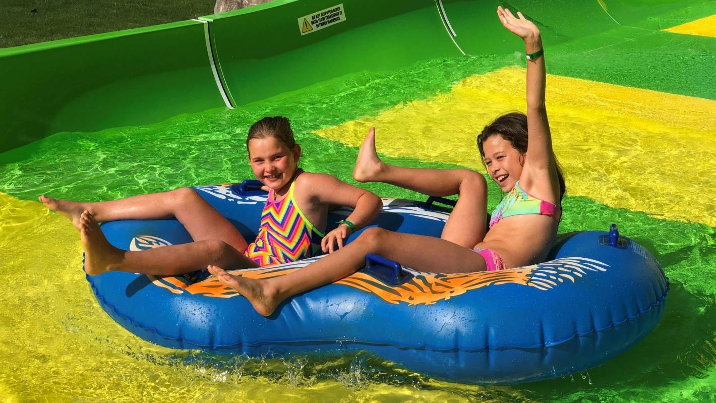 Hanmer Springs' Conical Thrill water slide and pools officially open - Stuff.co.nz