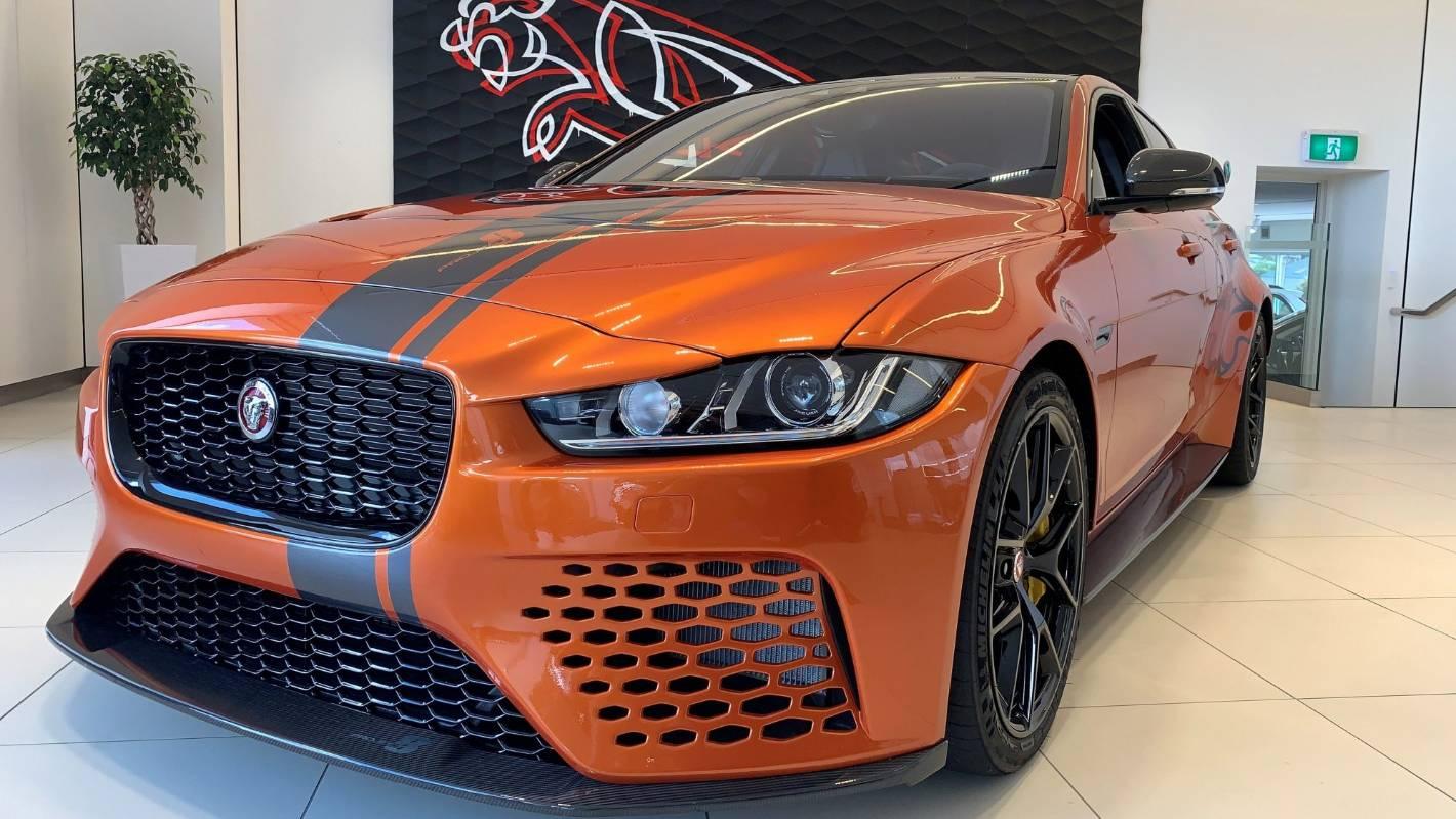 Outrageous Jaguar Xe Sv Project 8 On Tour In New Zealand Stuff Co Nz