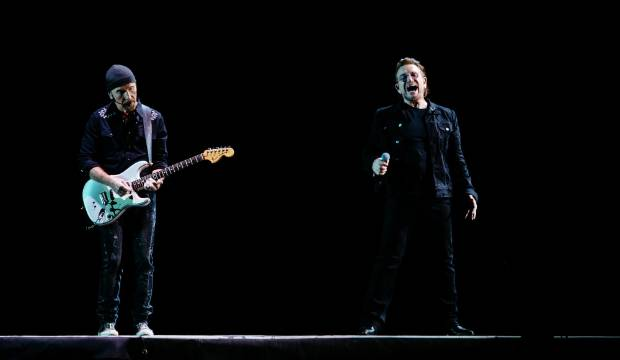In pictures: U2 perform first Auckland show at Mt Smart Stadium
