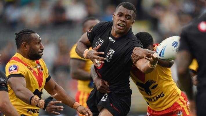 Fiji Edge Papua New Guinea To Win Oceania Cup Rugby League Nailbiter Stuff Co Nz