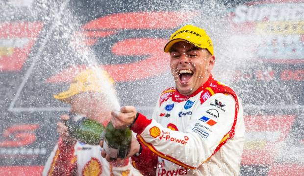 New Zealand's Supercars champ Scott McLaughlin cops Lance Armstrong taunt