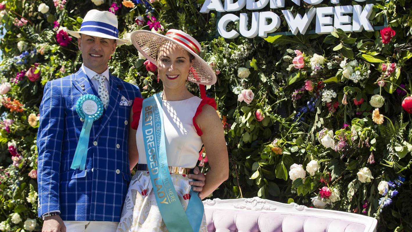 New Zealand Trotting Cup Flair And Individuality Shine In The Fashion Stakes Stuff Co Nz