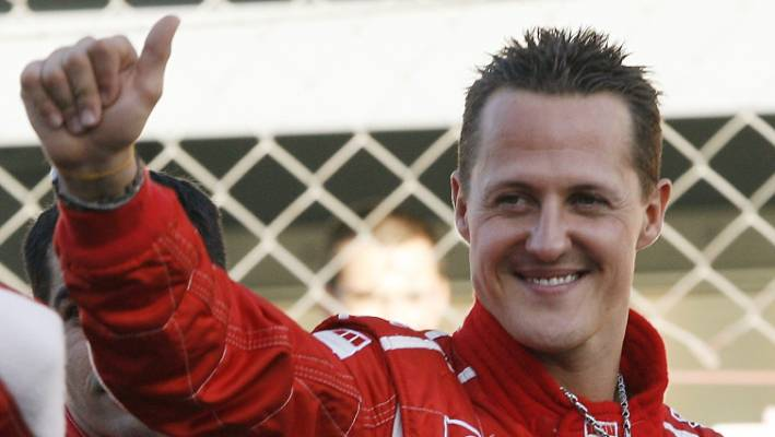 Michael Schumacher has not been sighted publicly since the skiing accident in 2013.