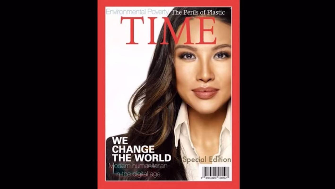Senior Trump official Mina Chang 'faked' Time magazine cover