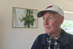 Mangawhai pensioner Noel Townsend says he's worried about the future, with his pensioner unit being the only thing he has.