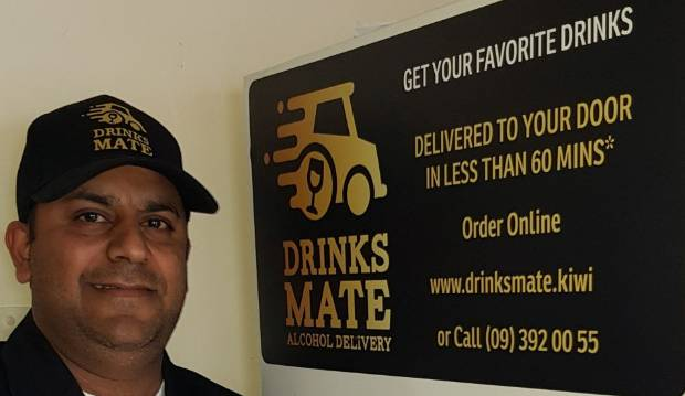 Alcohol delivery in Auckland: Uber driver turns to drink