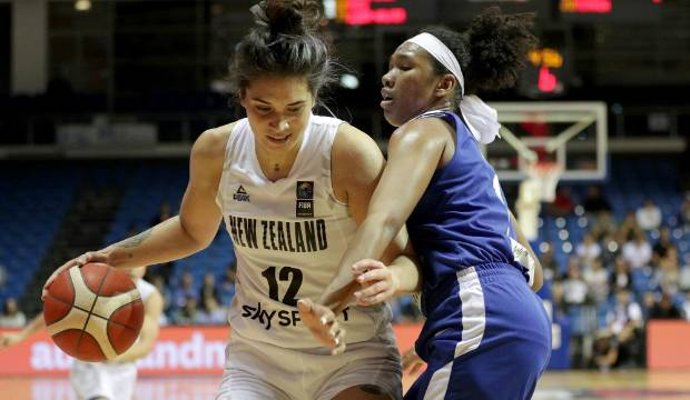 Tall Ferns pass 100 points in huge Olympic qualifying win over Philippines in Auckland