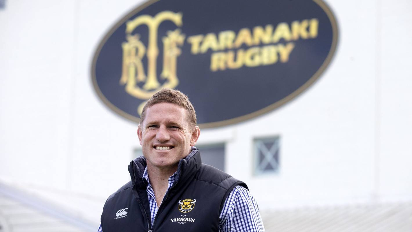 Patience required as Taranaki Rugby works through issues, new chief executive says - Stuff.co.nz