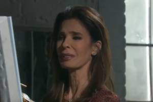 """""""Don't listen to the news always – especially that report."""" said Kristian Alfonso, who plays Hope Williams Brady on the soap."""