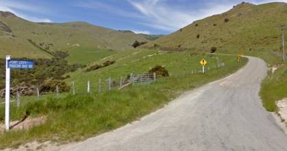 The crash happened about halfway along Port Levy-Pigeon Bay Rd, on Canterbury's Banks Peninsula, on Friday afternoon. ...
